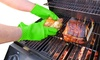 Heat-Resistant Silicone Grilling Glove (1- or 2-Pack)