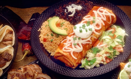 Mexican Cuisine at La Quesadilla Mexican Grill (Half Off). Two Options Available.