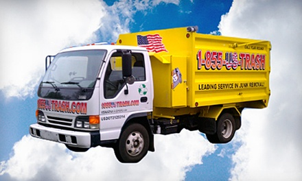 $48 for 2 Cubic Yards of Junk Removal from U.S. Trash (Up to $100 Value)