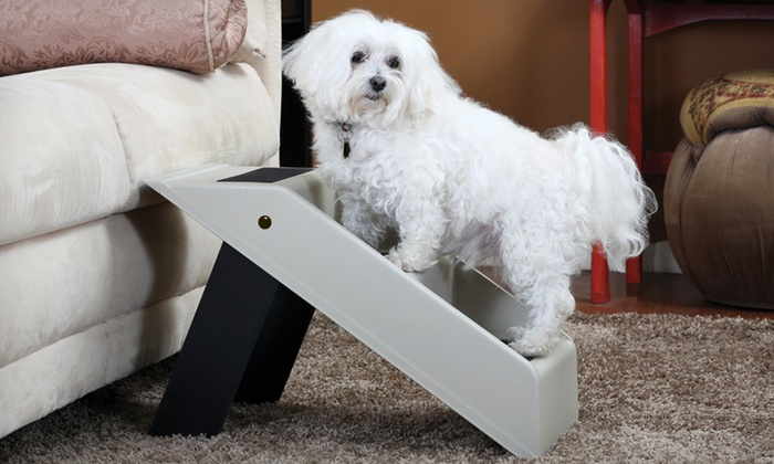 Pet Store Portable Folding Pet Steps: $19.99 for Pet Store Portable Folding Pet Steps ($120 List Price). Free Shipping and Returns.