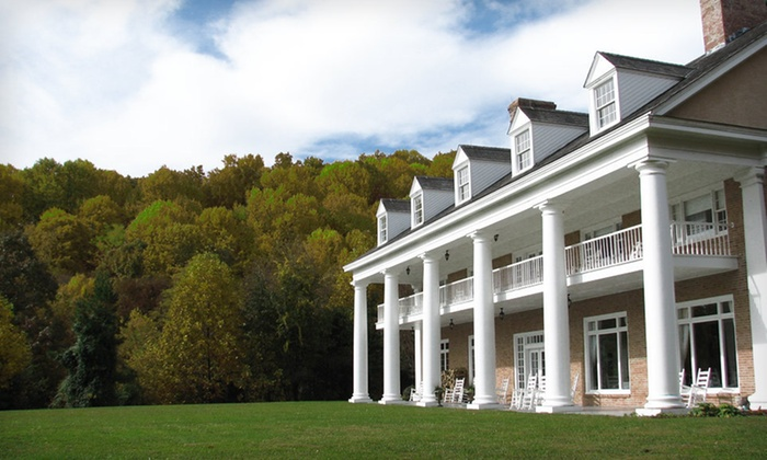 Christopher Place - Newport, TN: Two-Night Stay with Daily Breakfast, Wine Bottle, and Daily Resort Fee at Christopher Place in Great Smoky Mountains, TN