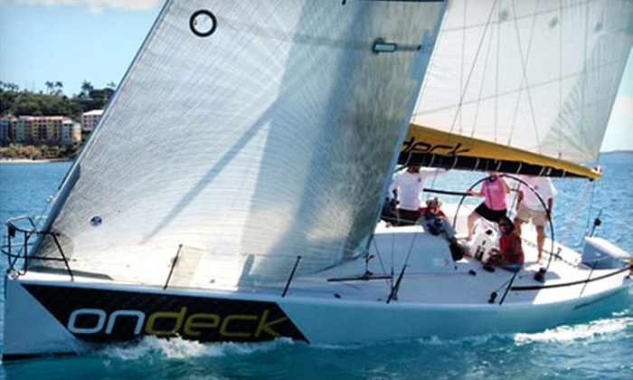Charleston Sailing Academy - Ocean Sailing Academy: Introductory Sailing Lesson for One or Two at Charleston Sailing Academy (Up to 55% Off)