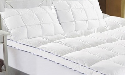 Ramesses 1000GSM Bamboo Mattress Topper: Single ($39), Double ($49) Queen ($59) or King ($75) (Don't Pay up to $179)