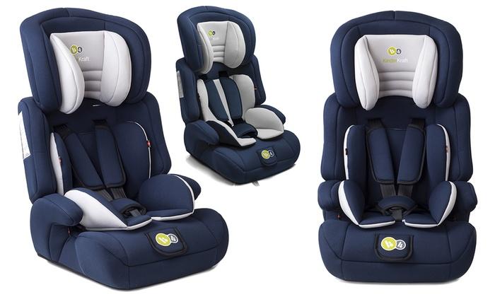 Sillas de coche para ni os kinderkraft groupon goods for Ofertas de sillas de coche para ninos
