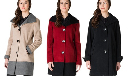 Ellen Tracy Women's Coats. Multiple Styles Available from $59.99–$79.99.