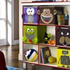 Altra Benny 3-Shelf Bookcase with 5 Bins