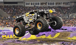 Monster Jam: Monster Jam on February 12 or 13 at 7:30 p.m.
