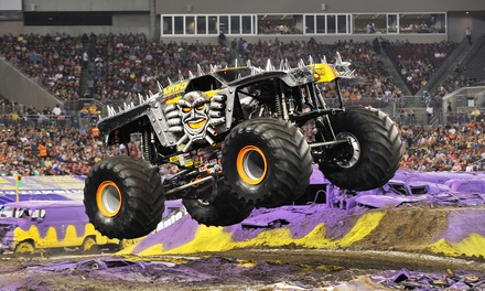 Monster Jam on Friday, April 15, at 7:30 p.m.