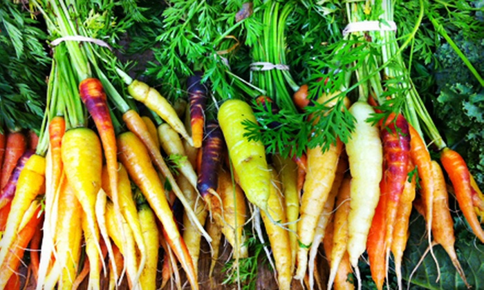 Swamp Rabbit Cafe and Grocery - Parker: $12.50 for a Box of Produce at Swamp Rabbit Cafe and Grocery ($25 Value)