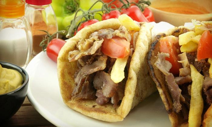 Mezza Restaurant & Lounge - Forest: Mediterranean Cuisine for Two or Four at Mezza Restaurant & Lounge (Up to 55% Off)