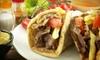 Up to 55% Off Mediterranean Cuisine at Mezza Restaurant & Lounge