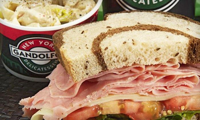 Gandolfo's New York Delicatessen in Pasadena - West Central: $10 Worth of Deli Sandwiches