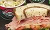 Gandolfo's New York Delicatessen-Pasadena - West Central: $10 Worth of Deli Sandwiches