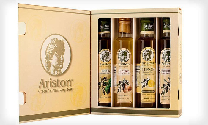 Artisan Infused Olive Oil and Vinegar Gift Sets: Artisan Infused Olive Oil and Vinegar Gift Sets (Up to 53% Off). Three Options Available. Free Shipping.