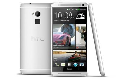 groupon daily deal - HTC One Max 32GB Unlocked GSM World Smartphone . Free Returns.