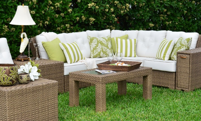 Leader's Casual Furniture - Multiple Locations: Up to 62% Off Rattan, Wicker, and Patio Furniture from Leader's Casual Furniture. Two Options Available