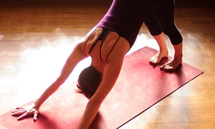 Newtown Yoga - Newtown Yoga: Three Yoga Classes at Newtown Yoga (64% Off)