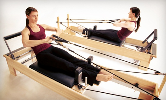 Pilates V Studio Jackson - Jackson: Eight Reformer Pilates Classes or One Month of Unlimited Reformer Classes at Pilates V Studio (Up to 54% Off)