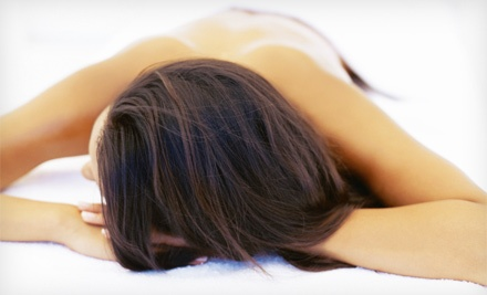 Anticellulite Body Wraps or Massage at Therapeutic Healing Massage Center (Up to 67% Off). Four Options Available.