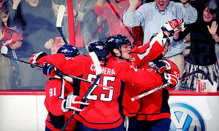 Washington Capitals - Verizon Center: $89 for a Game-Day Package to See the Washington Capitals at the Verizon Center (Up to $146.50 Value)