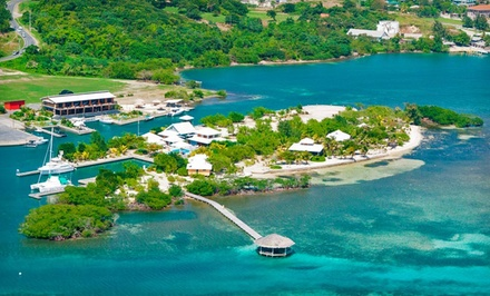 3-, 5-, or 7-Night Stay for Two at Barefoot Cay Resort in Bay Islands, Honduras