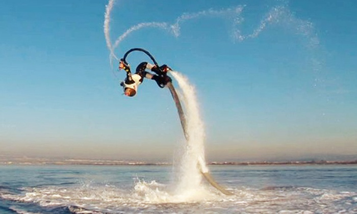 Orange Beach Flyboard - Bear Point Marina: 30-Minute Flyboard Flight for One or Two at Orange Beach Flyboard (Up to 57% Off)