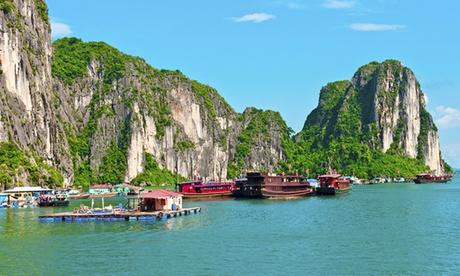 Vietnam: 7 noches para 1 con crucero y visitas