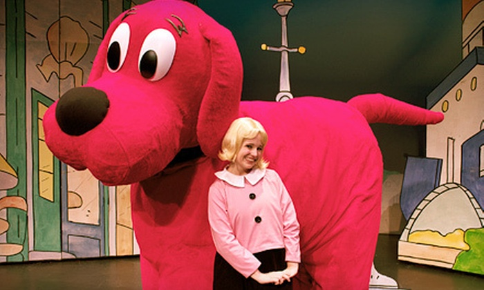 "Clifford The Big Red Dog - Live! - The Hanover Theatre: $19 for ""Clifford the Big Red Dog – Live!"" at The Hanover Theatre for the Performing Arts on March 10 (Up to $44 Value)"