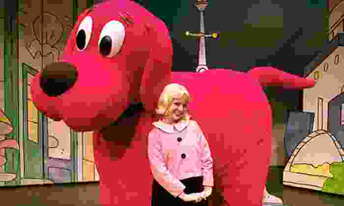 """Clifford The Big Red Dog - Live! - The Hanover Theatre: $19 for """"Clifford the Big Red Dog – Live!"""" at The Hanover Theatre for the Performing Arts on March 10 (Up to $44 Value)"""