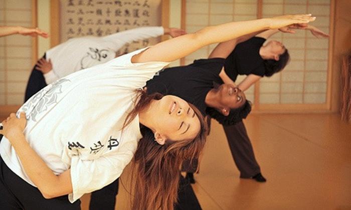 Dahn Yoga, Body & Brain Holistic Yoga - Multiple Locations: Yoga and Health Services at Dahn Yoga, Body & Brain Holistic Yoga (Up to 87% Off). Two Options Available.