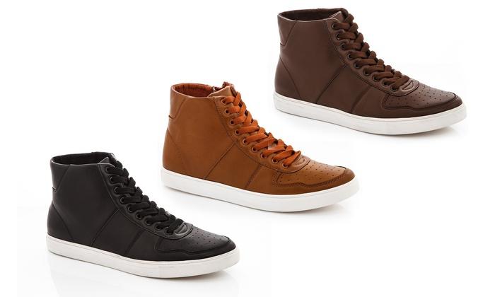 Franco Vanucci Edward Men's High-Top Sneakers