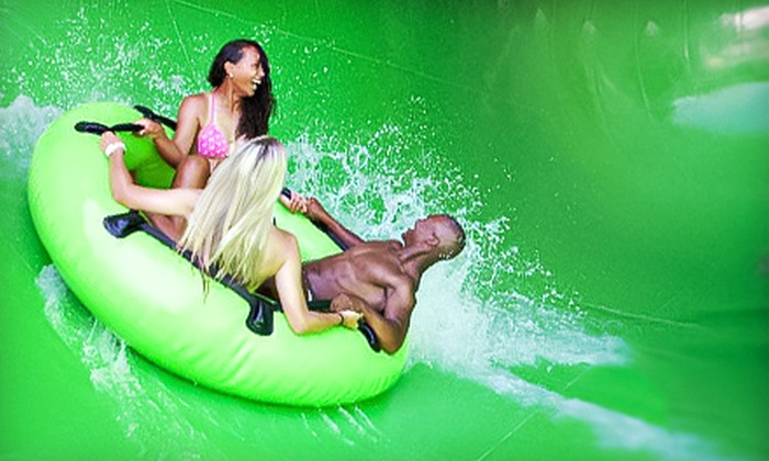 NRH2o Family Water Park - Walker Branch: Water Park Visit and Hot Dogs for Four or Six at NRH2o Family Water Park (Up to 51% Off)