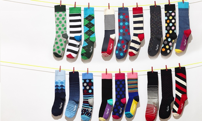 Happy Socks: $22 for a 3-Pack of Happy Socks ($36 List Price). Multiple Styles Available. Free Shipping.