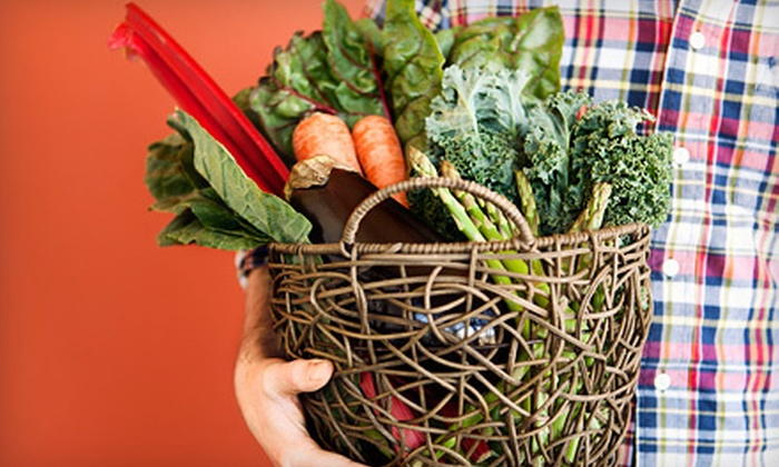 Organics of Naples - Old Naples: One or Four Boxes of Organic Produce from Organics of Naples (Up to 51% Off)