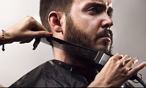Trim Zone Men Salon: Men's Grooming Package at Trim Zone Men Salon (Up to 68% Off)
