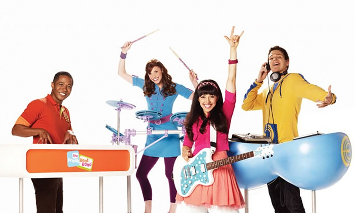 The Fresh Beat Band - Red Hat Amphitheater: The Fresh Beat Band at Red Hat Amphitheater on August 24 (Up to 51% Off)