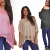 $19.99 for a Lurex Oversized Women's Knit Top