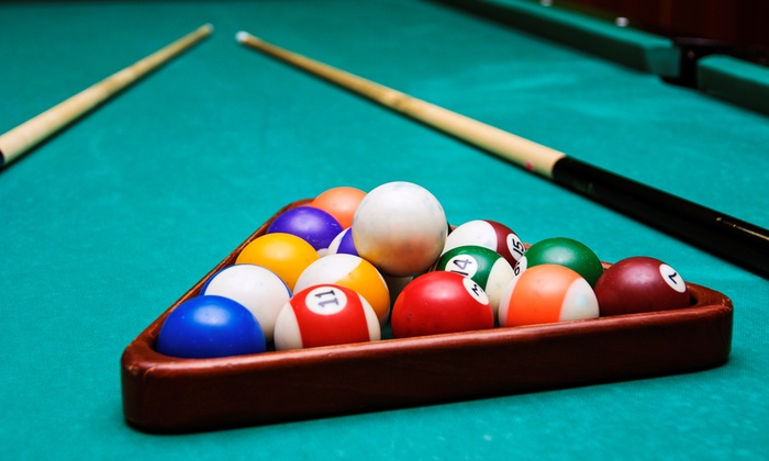 Belltown Billiards - Seattle: Billiards for Two with Pizza and Drinks, or Four-Hour Catered Party for Up to 40 at Belltown Billiards (Up to 66% Off)