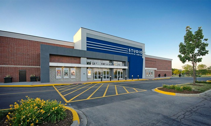 Studio Movie Grill - Wheaton: $5 for a Movie Outing with a Ticket at Studio Movie Grill (Up to $10.50 Value)