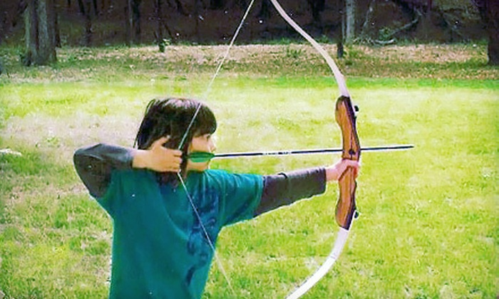 Bullseye Shooting Sports - San Antonio: Private Archery Lesson for One or Two from Bullseye Shooting Sports in New Braunfels (Up to 56% Off)
