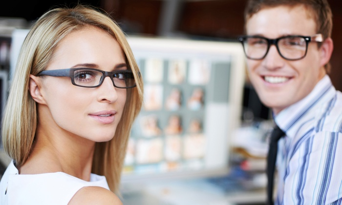 Optiks International - Victoria: C$29 for C$200 Toward Prescription Glasses with a Complimentary Second Pair from Optiks International
