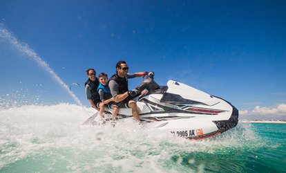 30-Minute, or One-, Two-, or Four-Hour Jet Ski Rental at Island Jet Skis LLC (Up to 74% Off)