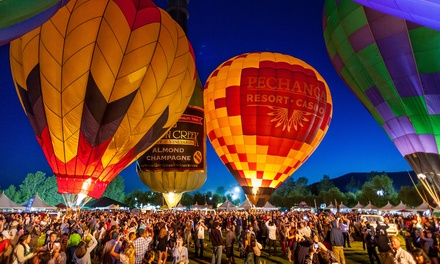 General Admission for Two or Four to Temecula Valley Balloon & Wine Festival on May 31 or June 2 (Up to 41% Off)