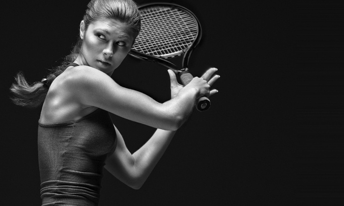 Tennis Champs - Multiple Locations: Three Group or Three Private Tennis Lessons at Tennis Champs (Up to 80% Off)