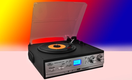 Pyle Classic Retro Turntable with USB, Cassette Deck, and Radio (PTTCS9U). Free Returns.