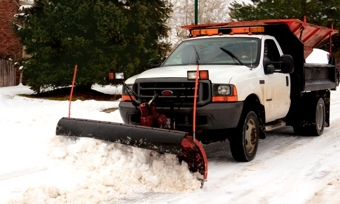 Ground Up Services - Anchorage: One or Three Driveway and Walkway Snow-Removals from Ground Up Services (Up to 54% Off)