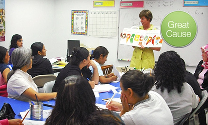 The Child and Family Network Centers: $10 Donation to Provide English Classes for Adults