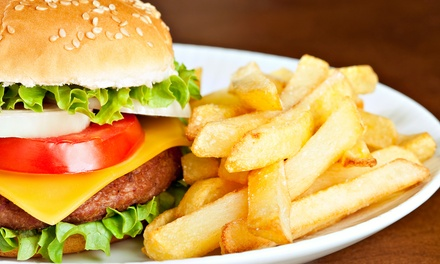 Casual American Food and Drinks for Two or Four at The Hills Bar & Grille (Up to 38% Off)