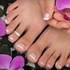 56% Off Manicure and Spa Pedi at Julie's Nail Room