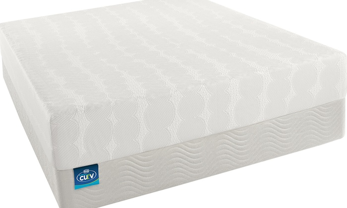 simmons curv firm memory foam mattress set simmons curv firm memory foam mattress set